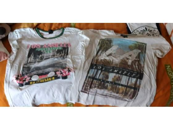 2 tshirt di cotone