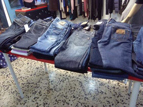 Stock 80 jeans uomo donna
