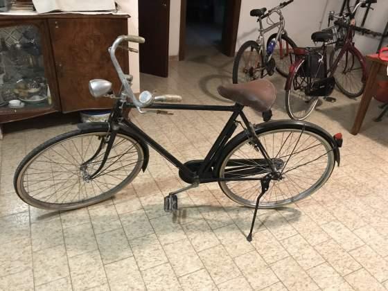 Bicicletta bianchi uomo anni 50