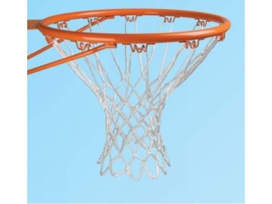 Coppia reti nylon per canestro basket diam. mm. 5 g.300
