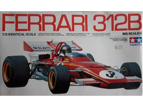 Kit FERRARI 312 B modellismo