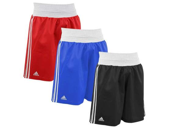 Shorts adidas boxe amateur in poliestere vari colori e varie
