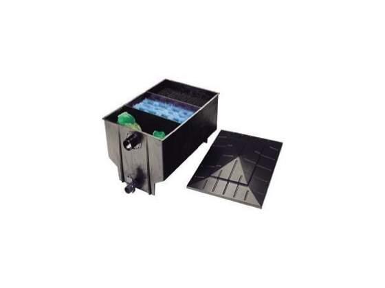 Filtro 3 camere 220 lt filtraggio carpe koi pesci rossi