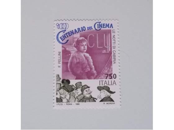 ITALIA  francobollo nuovo Centenario del Cinema