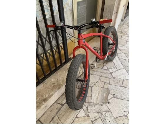 RIBASSO Fat Bike 26' alluminio