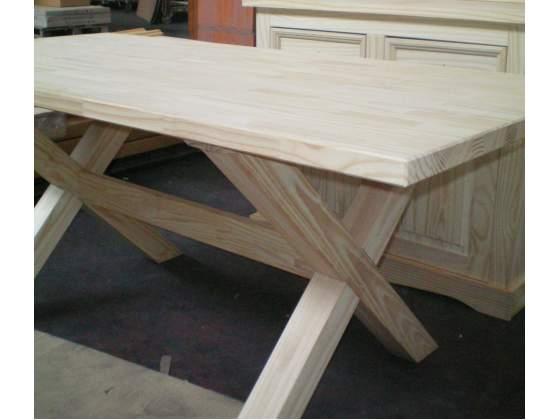 Tavolo grande legno massello verniciatura fai da te