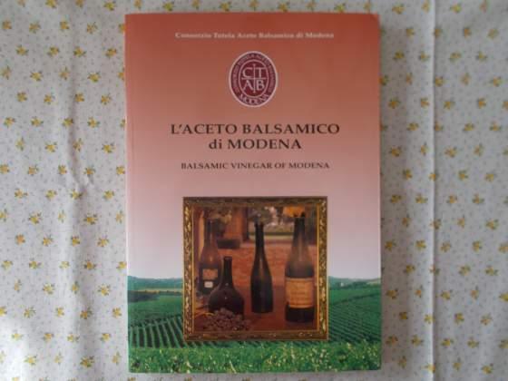 L'aceto balsamico di Modena