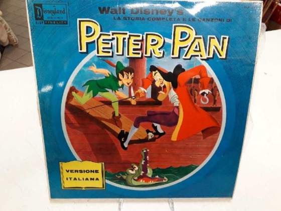 Lp w.disney peter pan