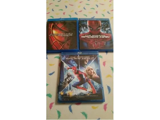 Saga completa spider man in bluray