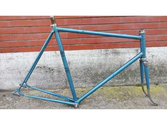 Telaio bici corsa anni 40 x cambio 2 leve