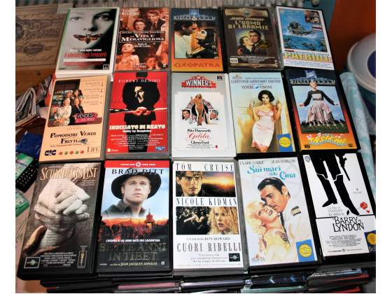 Videocassette film vhs