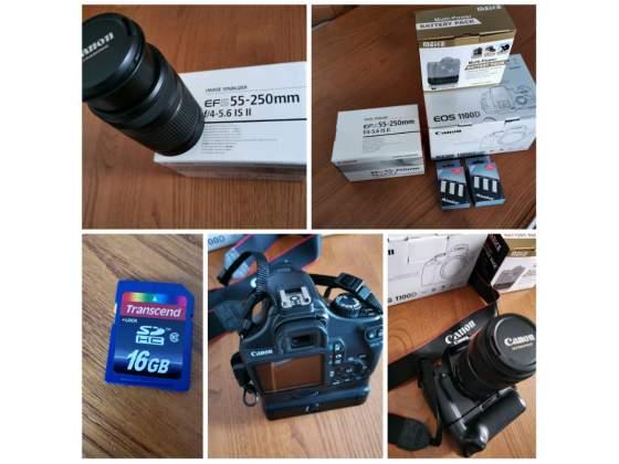 Canon EOS D+ Obiettivo  + Battery Grip