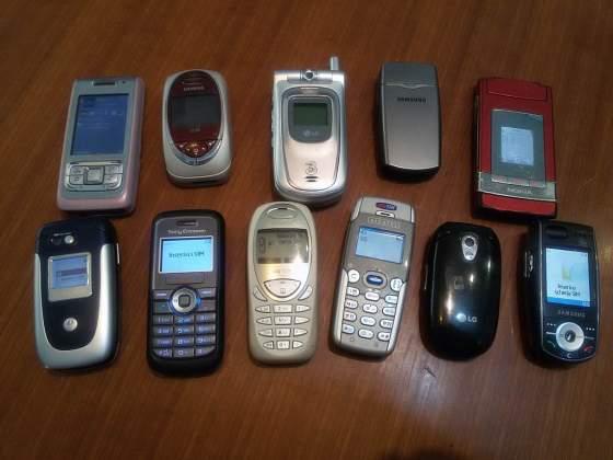 Cellulari varie marche dal  in blocco o al dettaglio