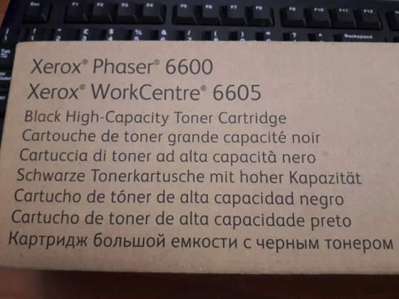 Toner xerox phaser  originale nero mai usato ALTA