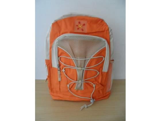 Zaino nuovo mai usato, colore Arancio/Beige