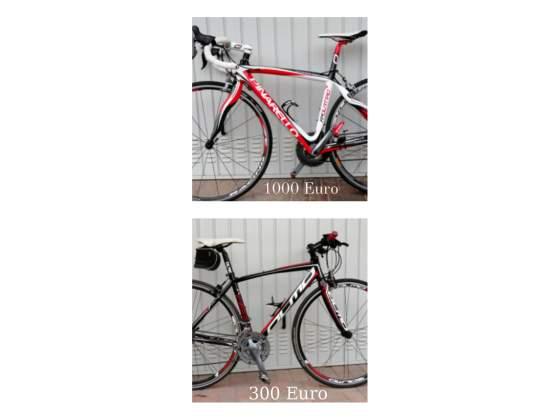 2 BICI stock: Pinarello FP4 Corsa e Olmo stradale ciclocross