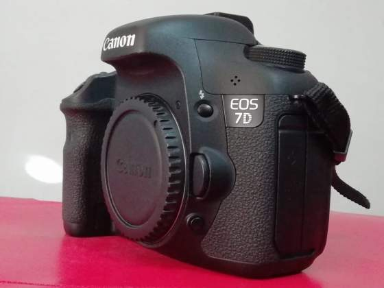 Obiettivi, materiale e reflex Canon (Canon 6D -Canon 7D)