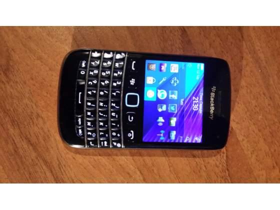Blackberry  black con custodia in pelle