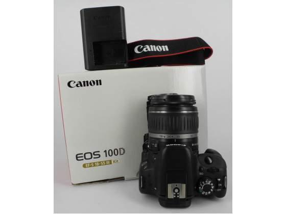 CANON EOS 100D KIT EF-S mm f/ II FOTOCAMERA