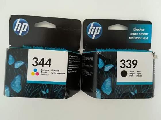 Cartucce HP 339 e 344 originali NUOVE