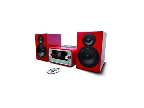 Majestic Mini Hi-Fi AH-HP BT/MP3/USB Red