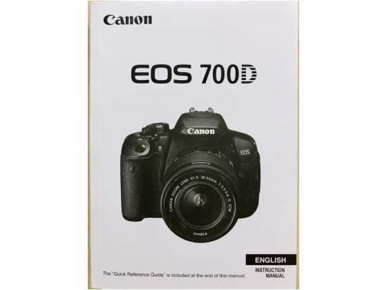 Manuale per Canon Eos 700D