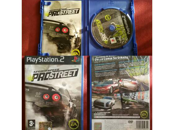 Need for Speed Pro Street per Play Station 2 come NUOVO