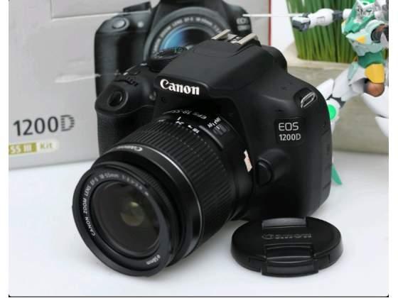 REFLEX CANON EOS D + ObiettivoEF-S mm