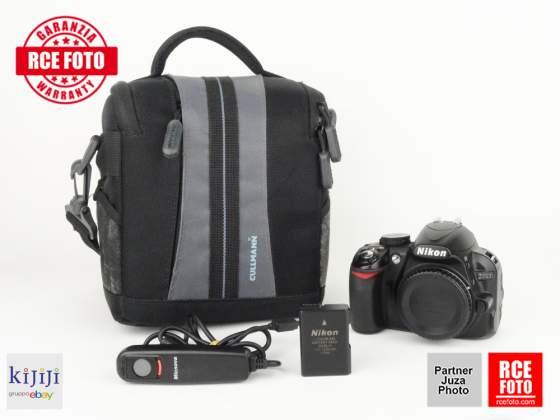 Nikon D (Body)+scatto remoto+seconda batteria originale