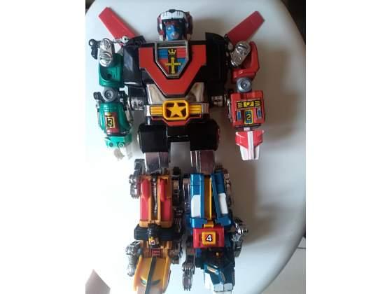 Robot voltron gigante posot class