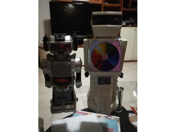 Lotto robot anni 80 made in Hong Kong
