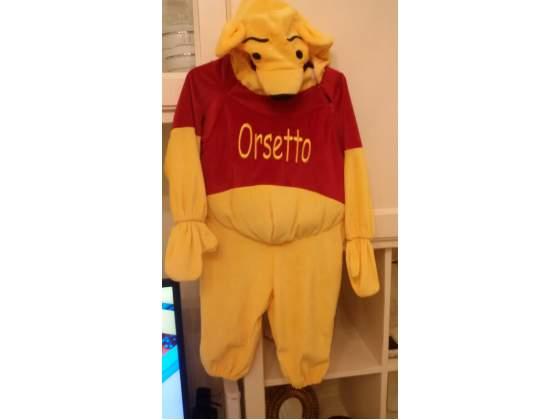 Vestito carnevale winnie the pooh