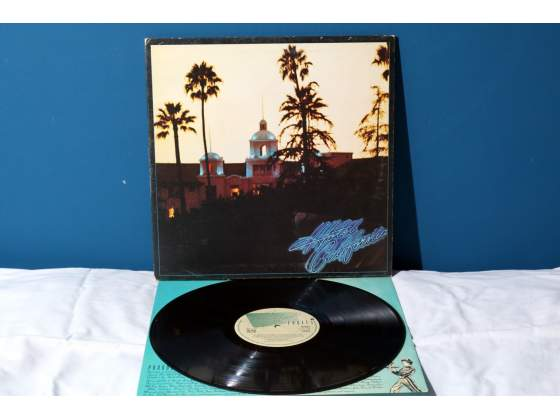 Eagles HOTEL CALIFORNIA LP *EX/EX-/EX* Vinile  UK RaRo