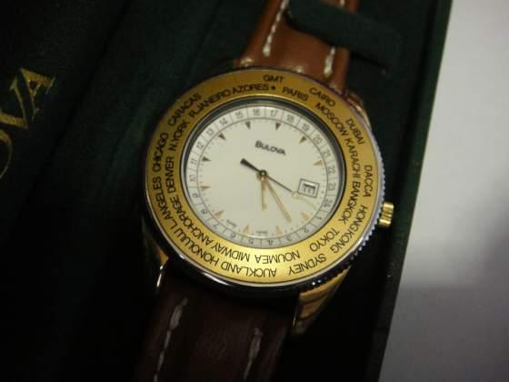 BULOVA orologio ore del mondo vintage