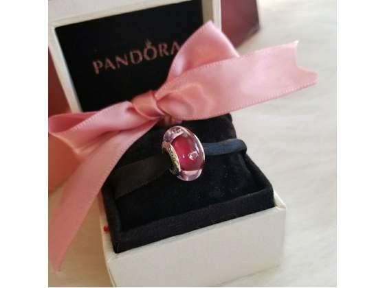 Pandora Charm pcz Cuori rossi color ciliegia