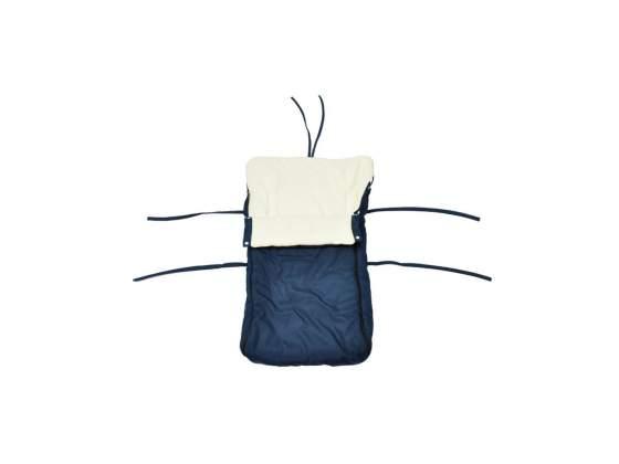VidaXL Sacco a pelo sacchi a pelo per slittino blu