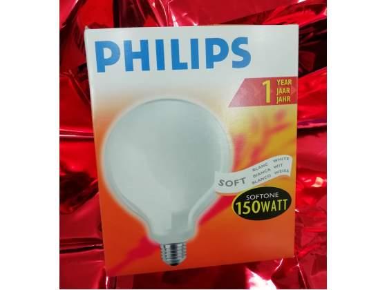 Lampada a globo 150w e27 philips