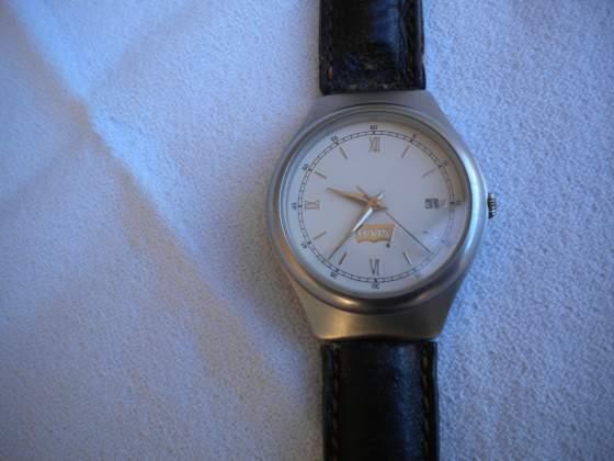 Levi's orologio originale vintage acciaio con scatola