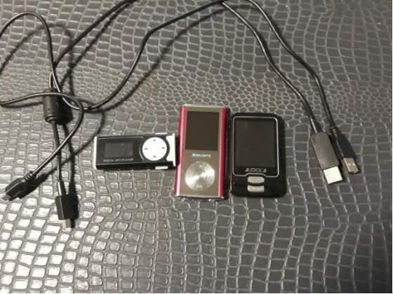 3 Lettori MP3 Majestic Audiola Usati Funzionanti