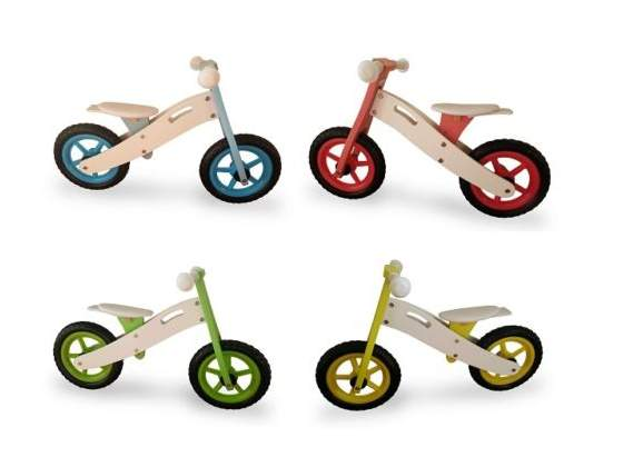 Bici senza pedali in legno per equilibiro bambini