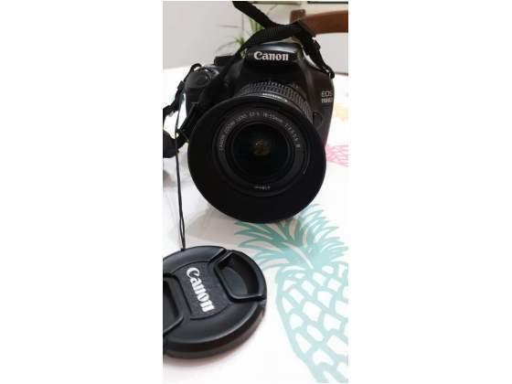 Canon EOS D + obiettivo EF-S  III + borsa + SD