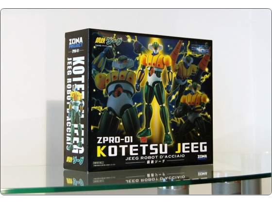 JEEG Robot - HL pro ZPRO-01 - Magnet Steel Gokin - Classic