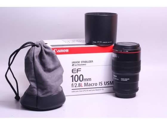 Obiettivo canon ef 100 mm f/2.8 l macro is usm. garanzia.
