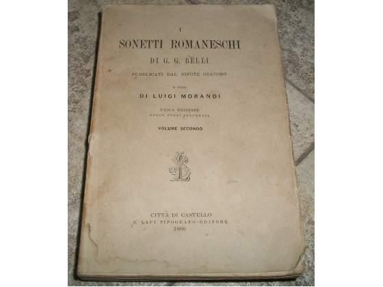 I Sonetti Romaneschi, di G.G. Belli