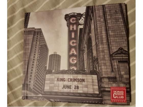 King Crimson live in Chicago cd digibook come nuovo