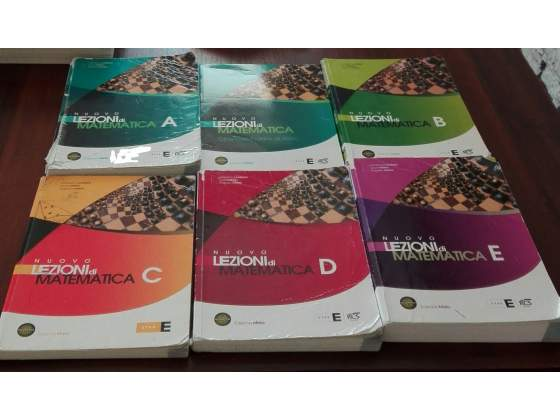 Nuovo lezioni di matematica, tomi A, B, C, D, E