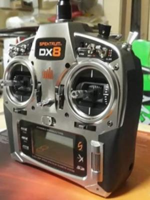 Radiocomando Spektrum dx8 più lotto 13 riceventi DSM2