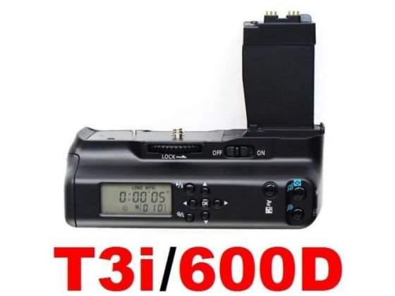 Battery grip con timer per canon 550d 600d