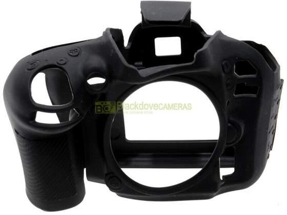 Custodia protezione in silicone per fotocamera Nikon D600.