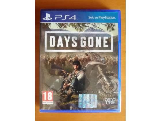 Days gone nuovo e sigillato per PS4 PAL ITA